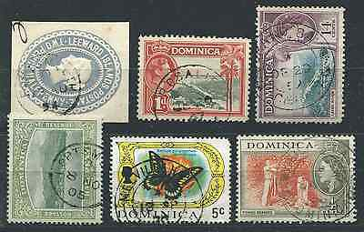 DOMINICA: (13359) GRAND BAY etc postmarks/cancels