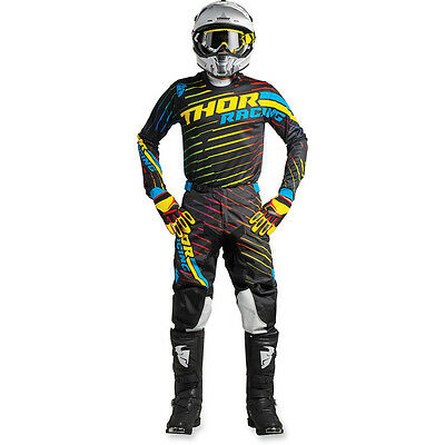 New 2018 Thor Pulse Jersey Pant Kit Motocross 32 34 36 38 RODGE MULTI