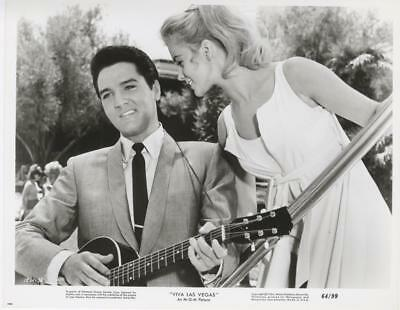 """viva Las Vegas""-Original Photo-Rockabilly-Elvis Presley-Ann-Margret-Guitar-#38"