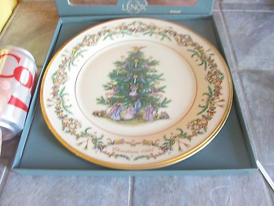 LENOX 1997 Limited Edition CHRISTMAS TREES AROUND THE WORLD ' Italy '  PLATE f