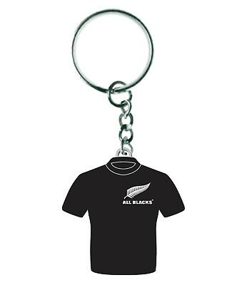 New Zealand All Blacks Rugby Union Metal Jersey Keyring
