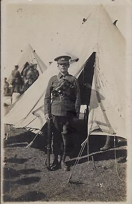 Soldier Glosters Gloucestershire Regiment TF Territorial Valentines message