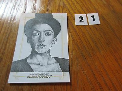 2017 Women of Star Trek 50th Anniversary Mike James Deanna Troi Sketch - 21