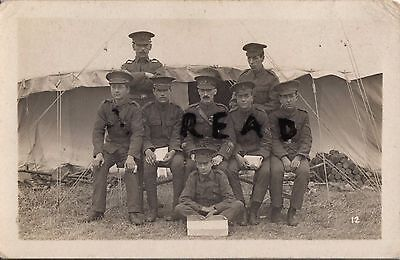Soldier group Quartermasters staff Cadet Batt KRRC Kings Royal Rifle Corps CLB ?