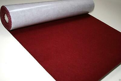 Self Adhesive Felt Baize Fabric Mini Rolls - WINE
