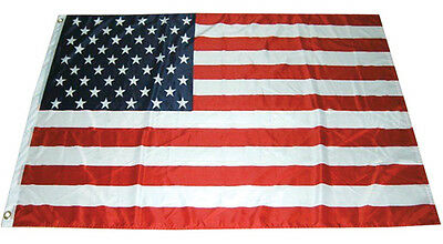 2x3 ft American Flag USA US Stars Grommets United States Polyester b