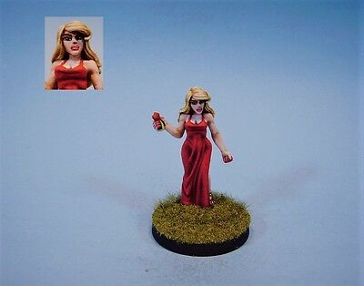 Ral Partha painted miniature Female Flower Sorceress
