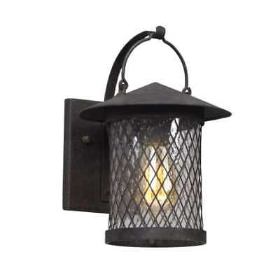 "Troy Lighting B5171 Altamont 1 Light 8"" Wide Hand Forged Outdoor Wall Sconce wit"