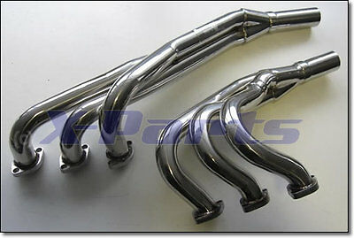 collecteur/raccord coudé BMW e30 6 CYLINDRE 320+325 82-94 NEUF Inox polie