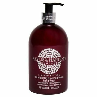 Baylis & Harding Midnight Fig & Pomegranate Hand Wash Limited Edition Brand New