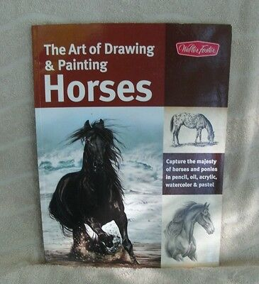 The Art of Drawing & Painting Horses by Patricia Getha Paperback Book (English)