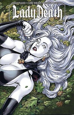 LADY DEATH TPB #2 (deutsch) WRAPAROUND-VARIANT lim. 99 Ex. COMIC ACTION 2012