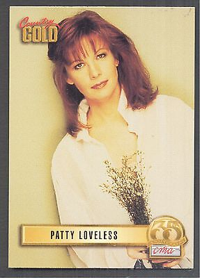 Patty Loveless, Country Music Star on a 1993 Country Gold Card #103