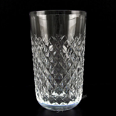 """Waterford Crystal ALANA Tumbler 12 Oz 5"""" Glass No Use ~ Mint ~ Gothic Mark"""