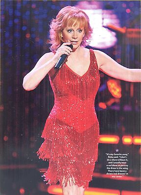 Reba McEntire, Country Music Star in 2012 Magazine Print Photo Clipping