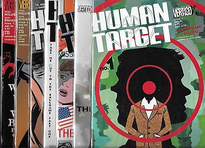 Human Target Lot Of 13 - #1 #2 #3 #4 #5 #6 #7 #8 #9 #10 #11 #12 #13 (Nm-)Vertigo