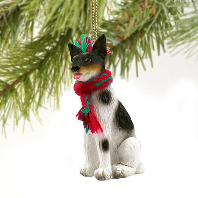 Rat Terrier Dog Tiny One Miniature Christmas Holiday ORNAMENT