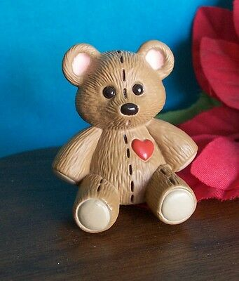 Hallmark Merry Miniature 1990 Stitched Teddy Bear