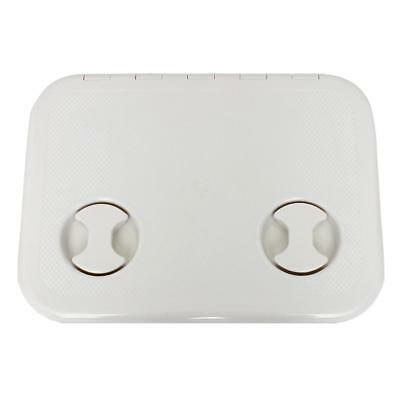 """Waterproof Hatch 15""""x11"""" White for Boats RV Marine Inspection Access"""