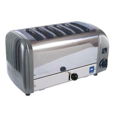 Cadco - CTW-6M(208) - 6 Slot Heavy Duty Toaster