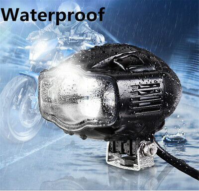 1X 20W Motorcycle/ Car Cree Spot Driving Fog Lamp Auxiliary Light w/USB Port