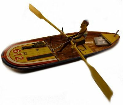 Rowing boat made in Spain, limited, Tin toys, Jaya
