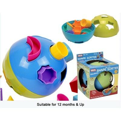 Round Shape Sorter Baby Ball Toy - Time Fun