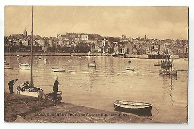 de channel islands postcard guernsey
