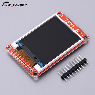 "1.8"" TFT LCD Screen Display Module ST7735 128x160 Support Micro SD Card 3.3V 5V"