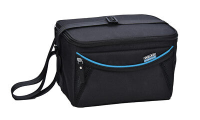 Polar Gear Premium Personal Cooler Bag, Black Work On The Go Travel Lunch