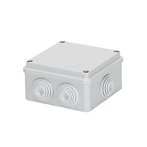 Gewiss GW44004 Junction Box with Glands 100mm x 100mm x 50mm IP56