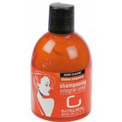 Integral Beauty Shampoing Integral Color Doré Cuivré Colorant Repigmentant 250ml