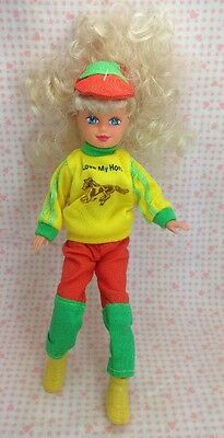 Vintage Kid Core Horse Model Pony Grand Champion Fakie Rider Doll Love My Horse