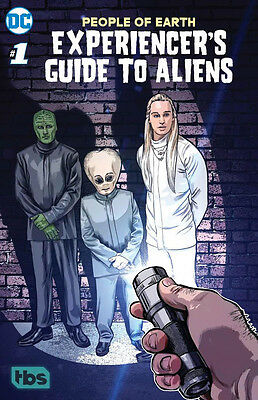 People Of Earth: Experiencer's Guide To Aliens #1 (Dc/ Tbs) Comic From Tv Show