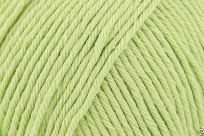 Stylecraft Classique 100% Cotton Double Knitting Wool Yarn - 3663 SOFT LIME