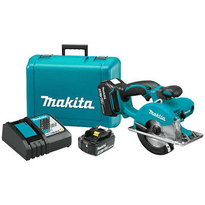 Makita XSC01T 18-Volt 5-3/8-Inch 5.0Ah LXT Cordless Metal Cutting Saw Kit