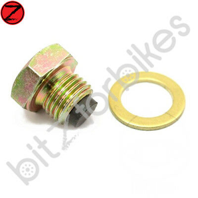 Magnetic Oil Drain Sump Plug JMP Yamaha XJR 1300 SP 1999 to 2001