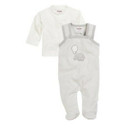 SCHNIZLER Bodysuit Set Interlock Elephant Size Selection