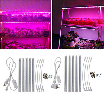 T5 LED Grow Light Bar Lamp SMD 5730 Full Spectrum Hydroponic Plant AC 85-265V