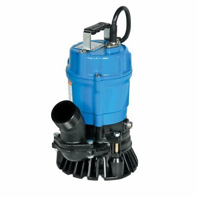 Tsurumi HS2.4S-62 2-Inch 1/2 HP Semi-Vortex Submersible Trash Pump with Agitator