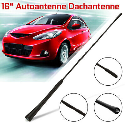 "16"" Replacement Car Roof Aerial Antenna Am/fm Mast For Bmw Mazda Vw Polo Passat"