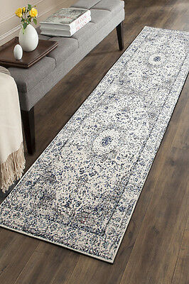 Hallway Runner Hall Runner Rug 3 Metres Long FREE DELIVERY Edith 251 White