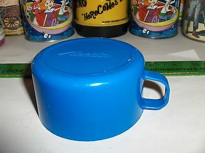 Dark Blue Plastic Cup-This Aladdin Plastic Cup Fits All Thermoses Use Cup #112