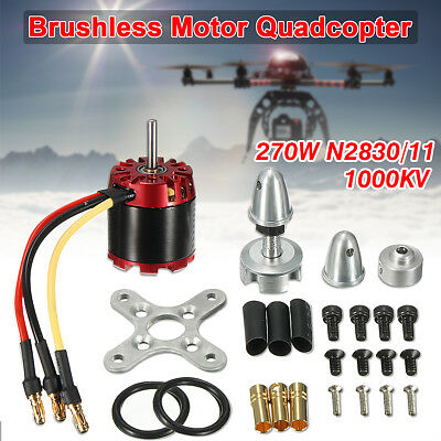 N2830 1000KV Outrunner Brushless Motor For Quadcopter Drones Aircraft Airplane