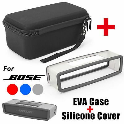 EVA Storage Case Bag + Soft Cover For Bose Soundlink Mini I II BT Speaker