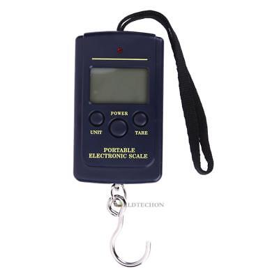 Portable Electronic Digital Hanging Hook Scale 40kg/10g Fishing Luggage Weight