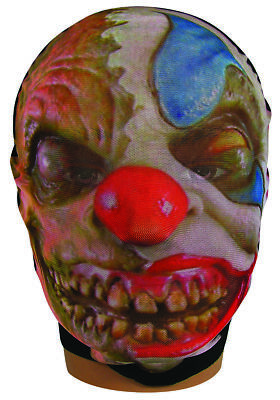 Mesh Stocking Mask Evil Clown Adult Size Halloween Party Costume Accessory