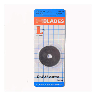DAFA Rotary Cutter Straight Blade (Pack of 1) 45mm DFRC45B