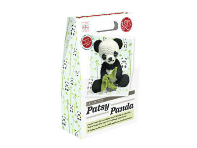 The Crafty Kit Company | Patsy Panda Crochet Kit | Intermediate | CKC-CK-043