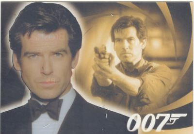 James Bond Heroes & Villains The Men Of James Bond Chase Card B5